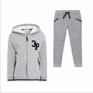 3Pommes Matching Sets - 3Pommes Sweats Set Size 7T